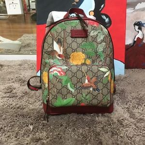 Gucci GG Supreme Unisex backpack